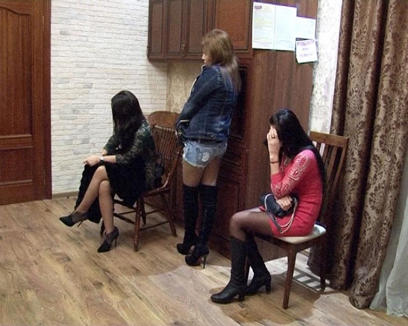 Задержание проституток видео