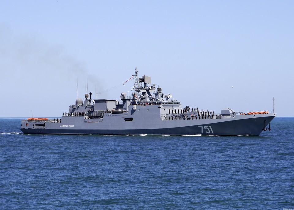 Сторожевой корабль «Адмирал Эссен». Фото: пресс-служба ЧФ РФ