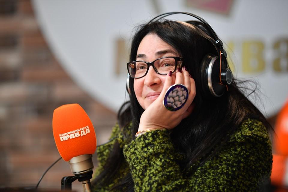 Лолита Милявская в гостях на Радио «Комсомольская правда»
