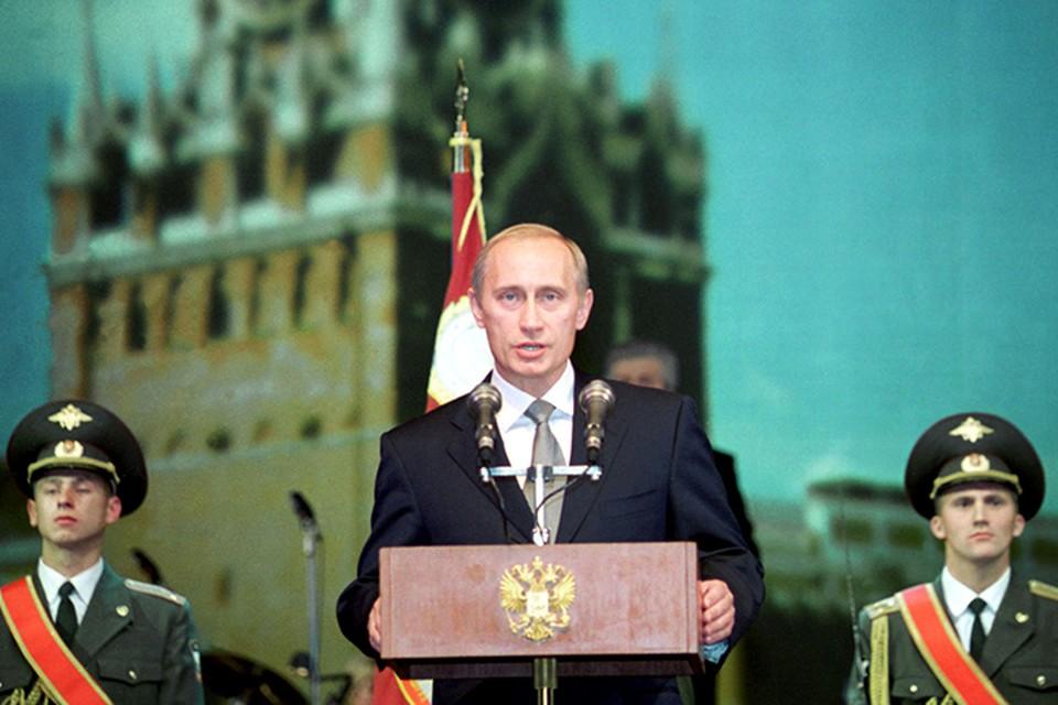 Владимир Путин на выборах-2000 набрал 52,9% голосов
