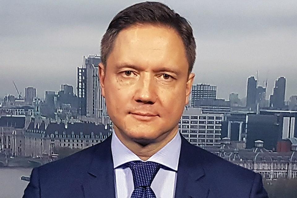 Фигурант списка Бориса Титова Сергей Капчук в Лондоне