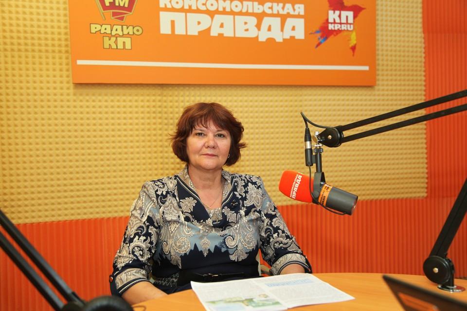Начальник Ставропольского Гидрометцентра Нелли Кравченко