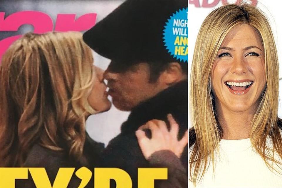 Star Magazine поместил на свое обложку снимок целующихся Энистон и Питта.