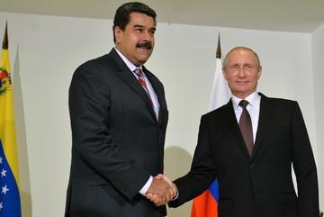 Путин по телефону пожелал Мадуро удачи на президентских выборах в Венесуэле