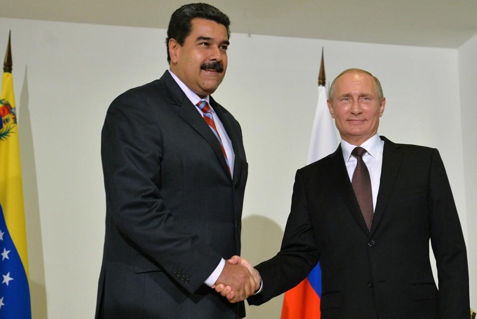 Николас Мадуро поздравил Владимира Путина с победой на выборах. И договорился о новой встрече.