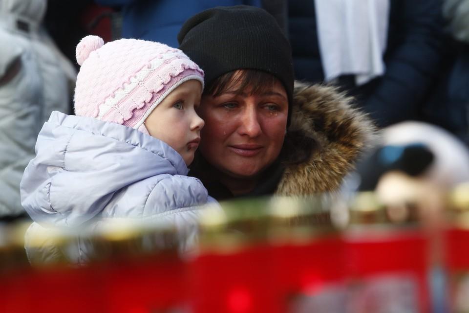 28 марта в России объявлен общенациональный траур по жертвам трагедии