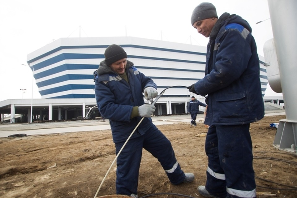 В деле Магомедова есть эпизод, связанный с подготовкой площадки под калининградский стадион.