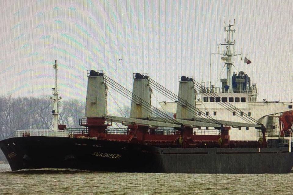 Украина арестует еще одно судно.