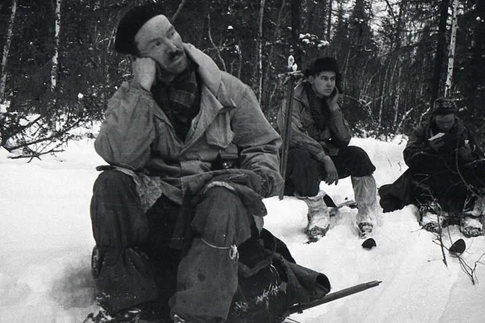 Семен Золотарев (слева) - самый загадочный участник группы Дятлова.