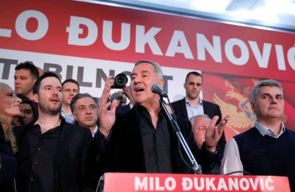Избранный президент Черногории Мило Джуканович