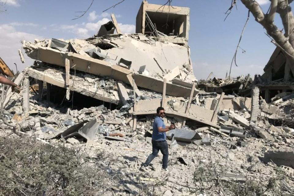 В ночь на 14 апреля США, Великобритания и Франция нанесли ракетный удар по Сирии
