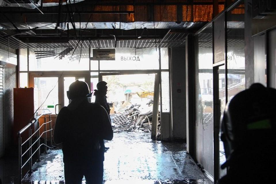 Названа предварительная причина пожара в ТРЦ «Зимняя вишня»