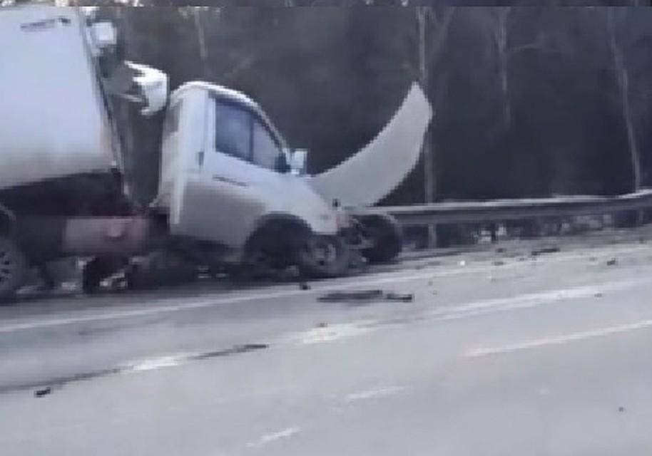 Несколько человек погибли в столкновении Тойоты и Газели под Томском