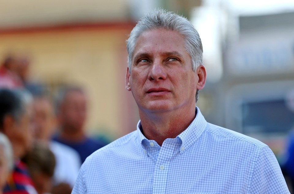 Новый президент Кубы Мигель Диас-Канель