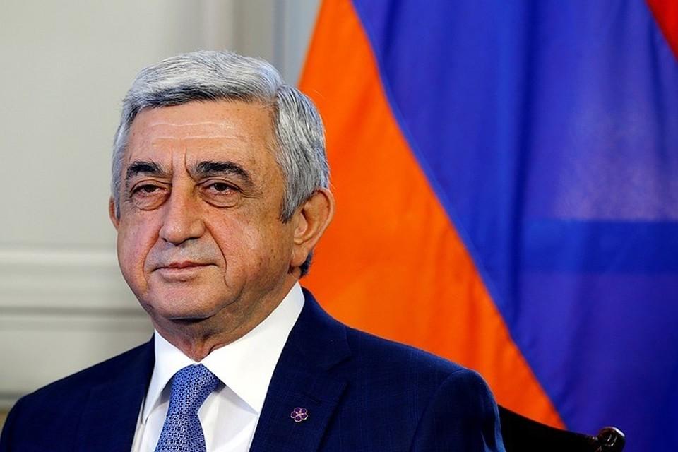 Серж Саргсян ушел с поста премьер-министра Армении