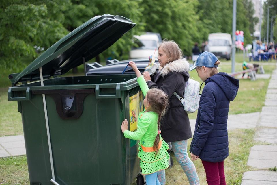 Раздельный сбор мусора — путь к чистой стране.
