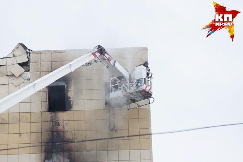 Выявленные после пожара в кемеровской «Зимней вишне» нарушения в Кремле назвали чудовищными.