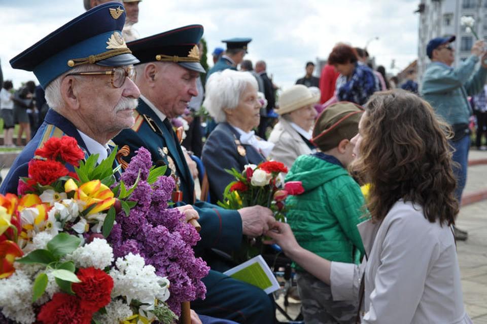 Каждый год к Дню Победы ветераны получали материальную помощь от государства
