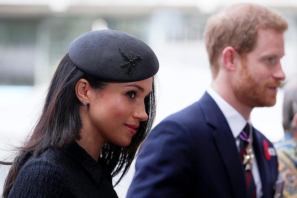 Меган Маркл и её будущий супруг Принц Гарри.