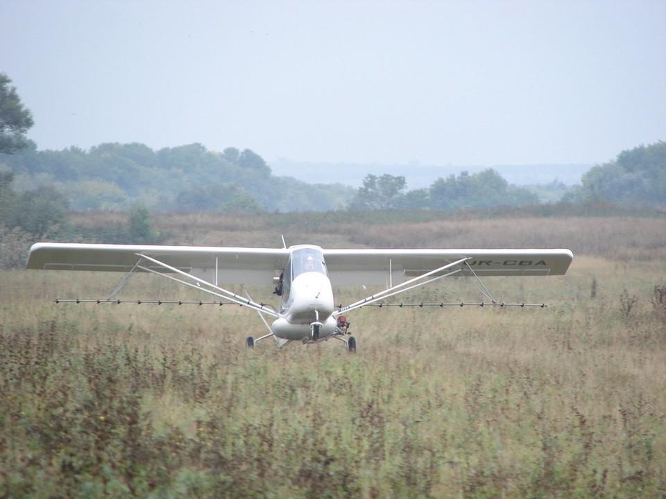Легкомоторные самолеты «Бекас» используются в сельском хозяйстве уже четверть века
