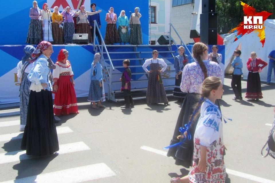 В Курской области хранят традиции народного творчества