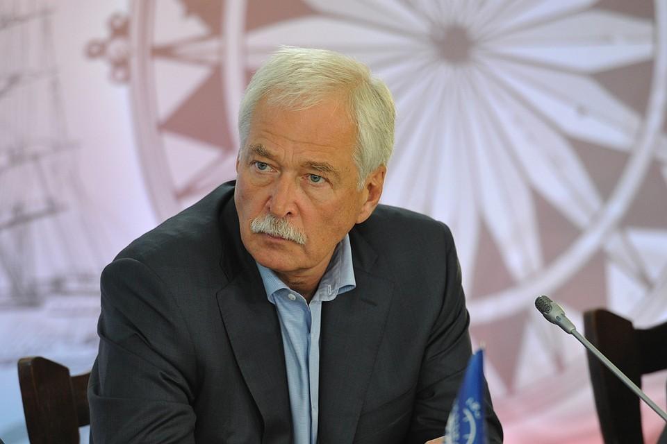 Полпред России в контактной группе по урегулированию ситуации на востоке Украины Борис Грызлов