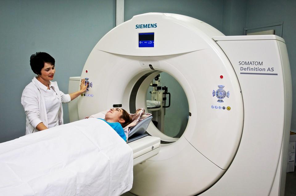 Единственный в крае 256 срезовый многоспиральный томограф