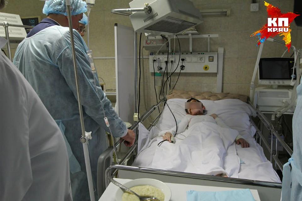 Секс в больничной полате снято на телефон