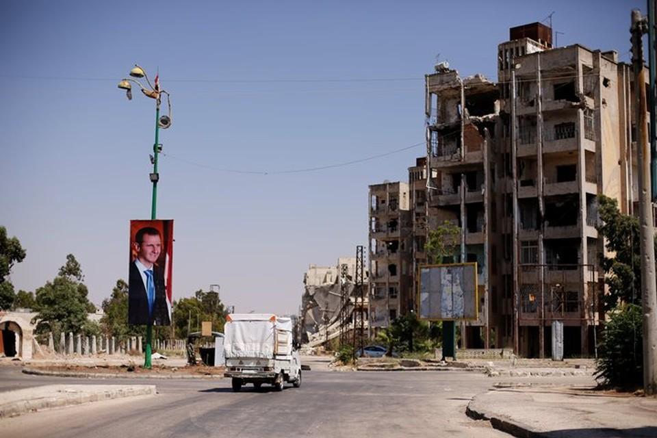 Сирийский город Хомс - административный центр одноименной провинции