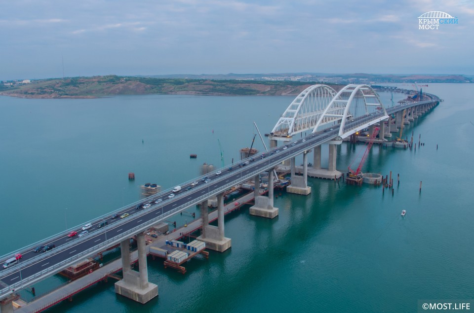 """Фото: инфоцентр """"Крымский мост"""""""