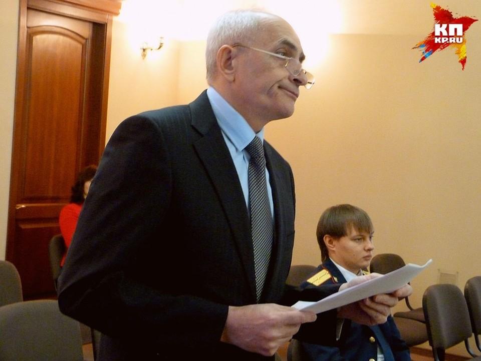 Покойного судью Сергея Москаленко признали виновным в получении взятки.