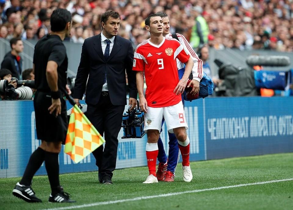 Алан Дзагоев выбыл из сборной из-за травмы на две недели