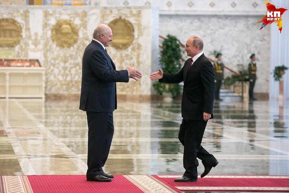 Президент РФ прибыл в Минск, где примет участие в заседании Высшего государственного совета Союзного государства.