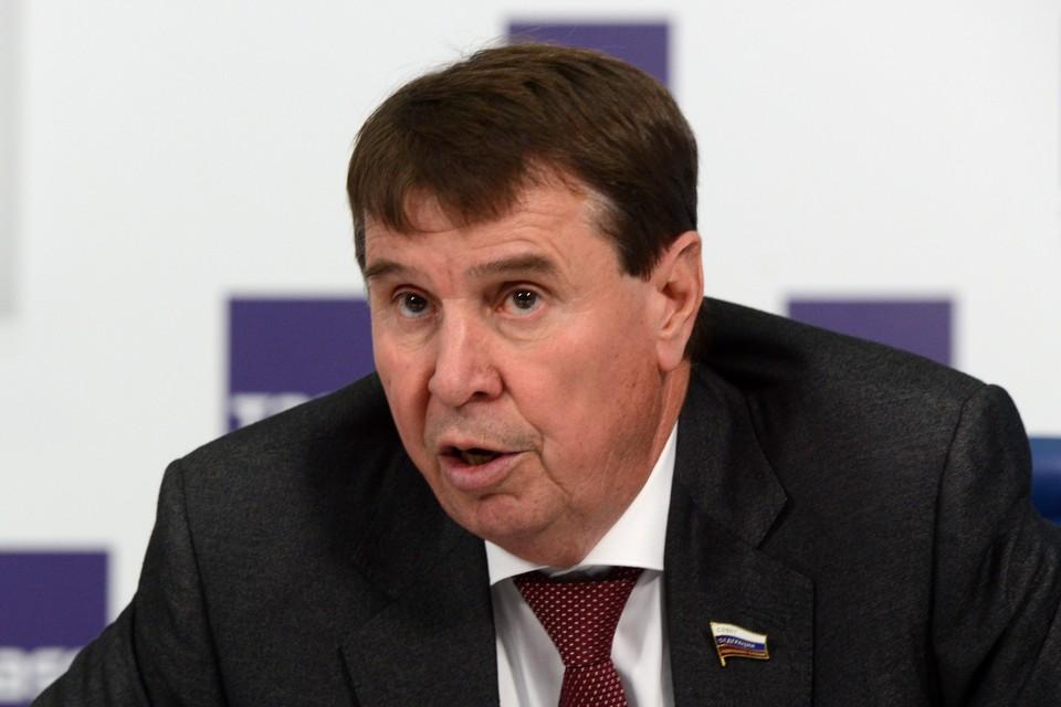 Член Совфеда Сергей Цеков. Фото: Николай Галкин ТАСС
