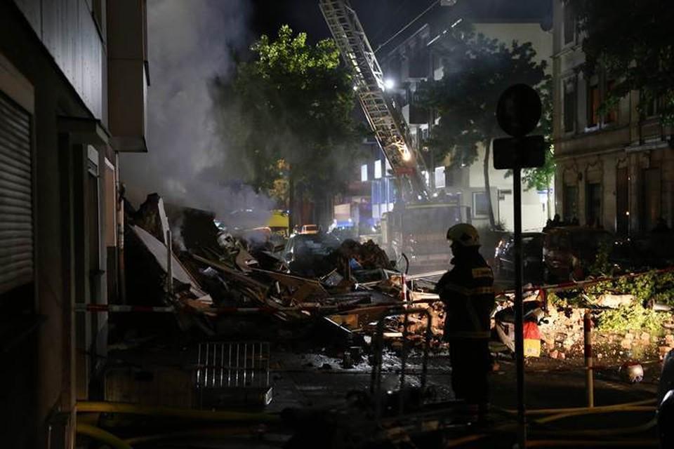 При взрыве в жилом доме в Германии пострадали 25 человек