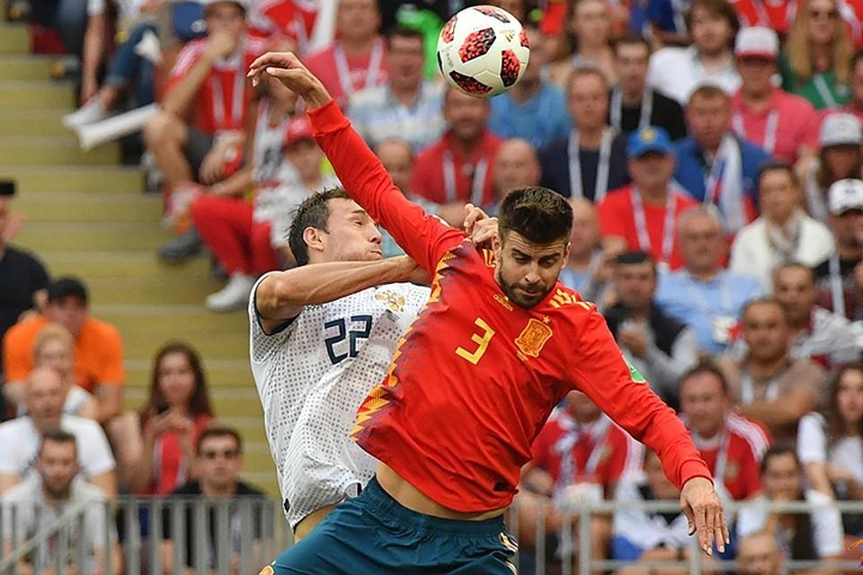 За встречей России и Испании на чемпионате мира-2018 внимательно следили на Украине