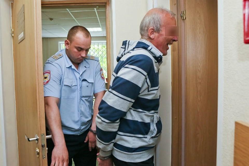 На суде мужчина был невозмутим