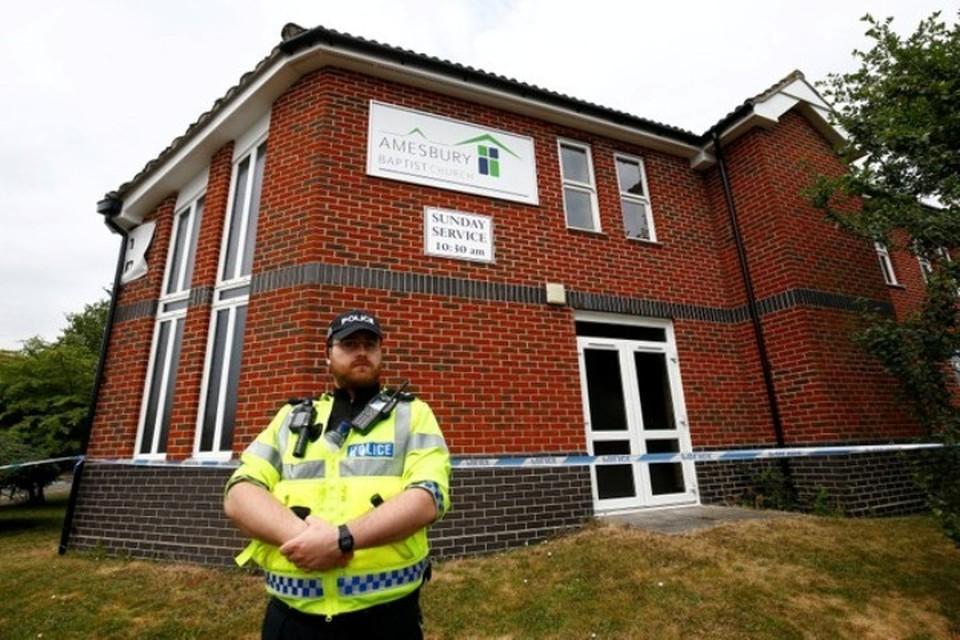 4 июля полицейское управление английского графства Уилтшир сообщило об инциденте в городе Эймсбери