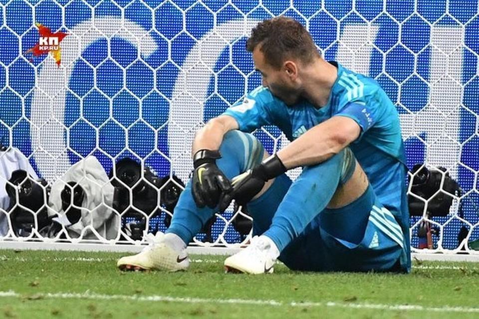 Бились, как герои! Сборная России покидает чемпионат мира по футболу