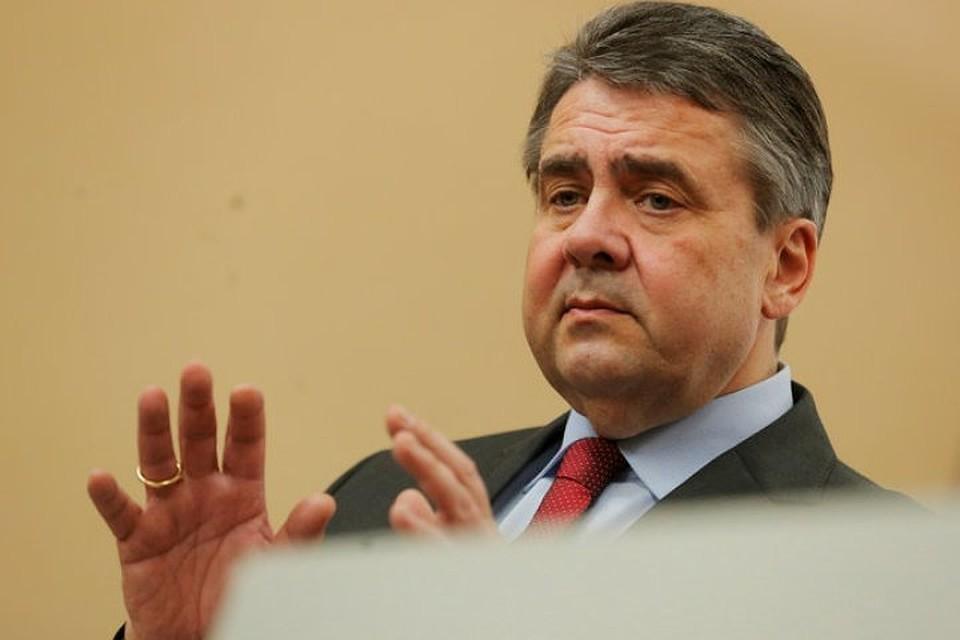 Бывший министр иностранных дел Германии Зигмар Габриэль