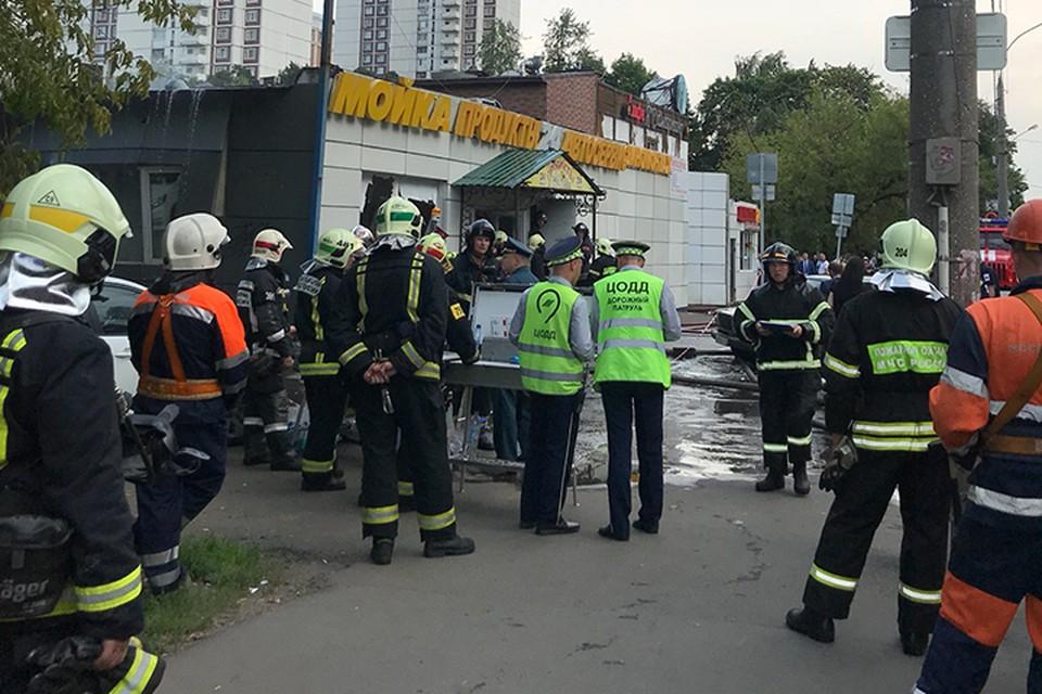 То, что взрыв прогремел именно в кафе подтвердил один из сотрудников полиции