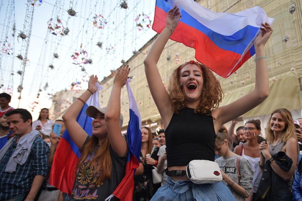 Россияне в восторге от соприкосновения с иностранной культурой.