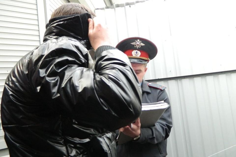 Полицейские задержали мужчина утром 9 мая.