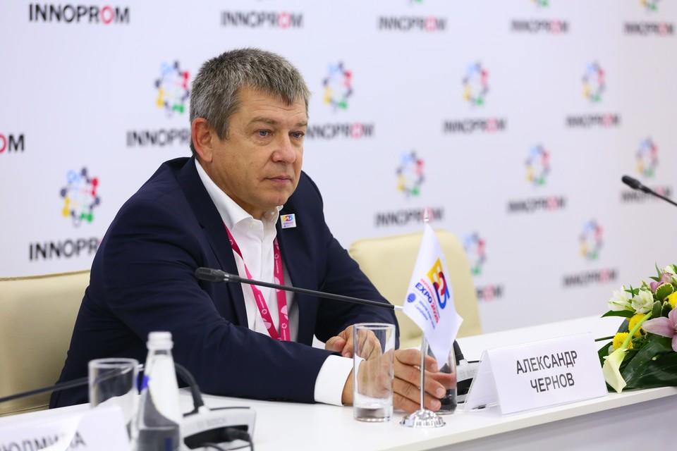 Генеральный директор заявочного комитета ЭКСПО 2025 Александр Чернов