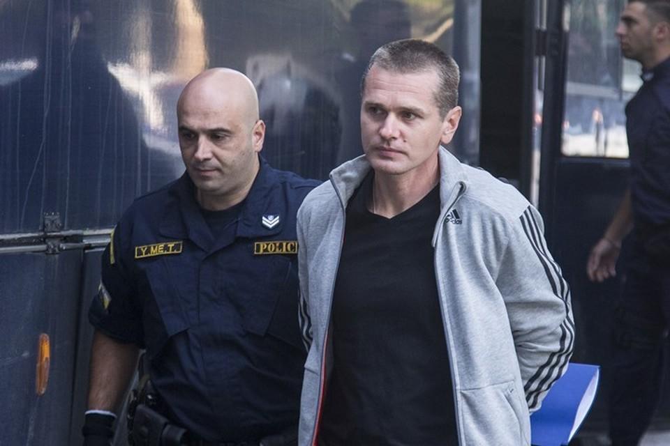 Задержанный в Греции россиянин Александр Винник