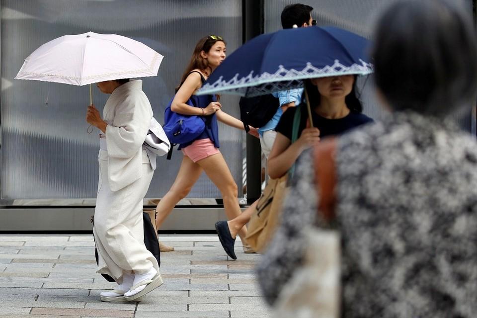 В Японии из-за жары умерли 65 человек за неделю