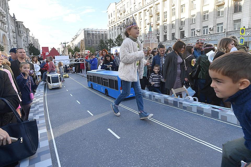 На День города Тверскую улицу вновь сделают пешеходной.