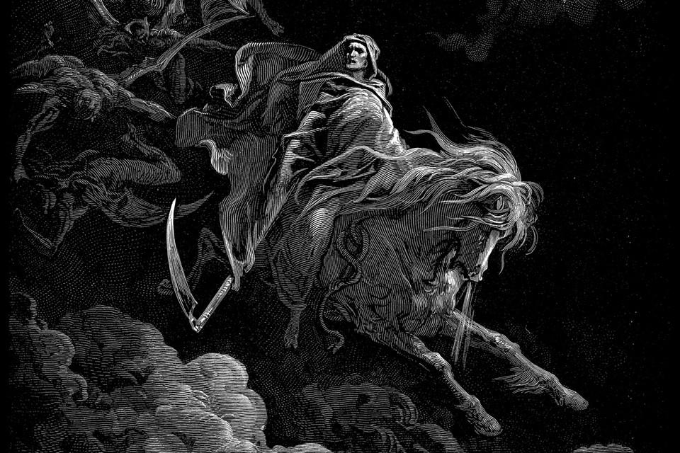 Таким увидел образ смерти художник Гюстав Доре. Иллюстрация: wikipedia.org