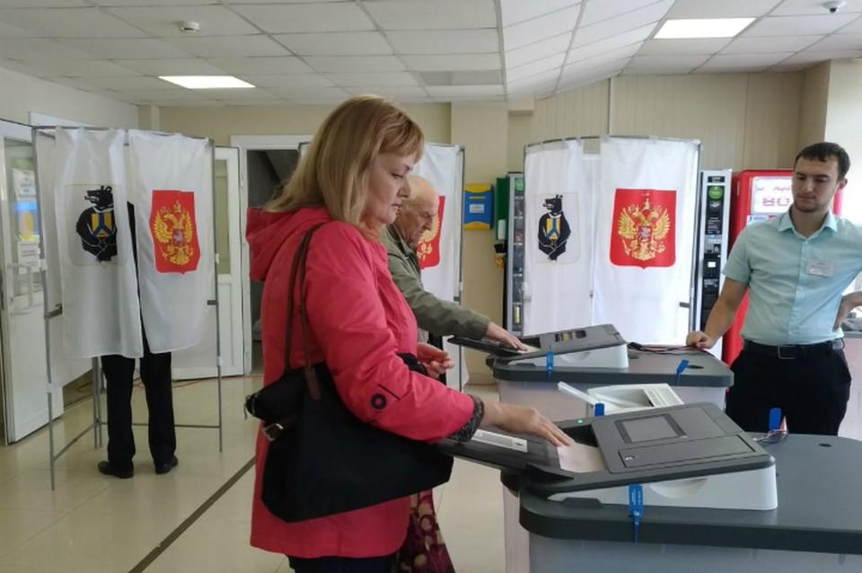 Рекордная явка: В Хабаровском крае к 18.00 часам проголосовали 42,79% избирателей