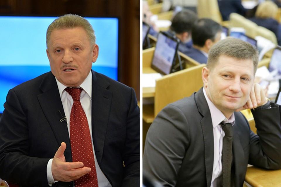 Кандидаты в губернаторы Хабаровского края: Вячеслав Шпорт и Сергей Фургал